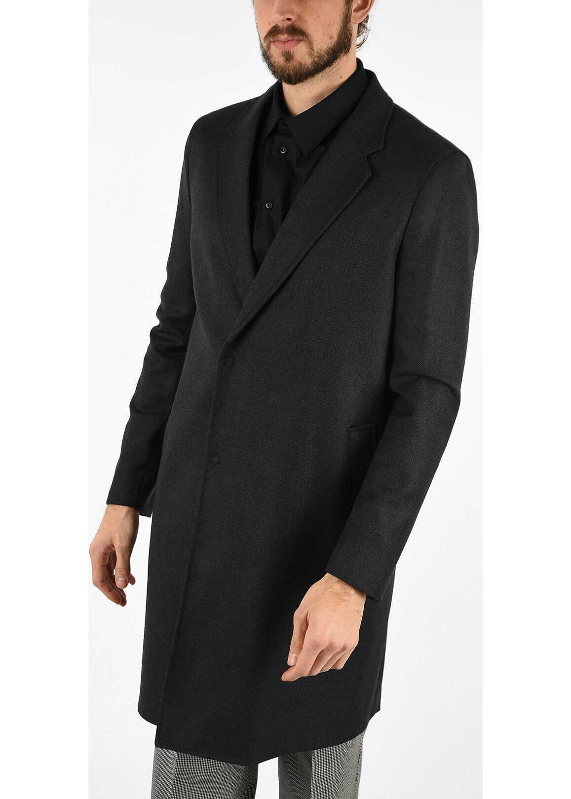 Armani EMPORIO Wool Coat GRAY