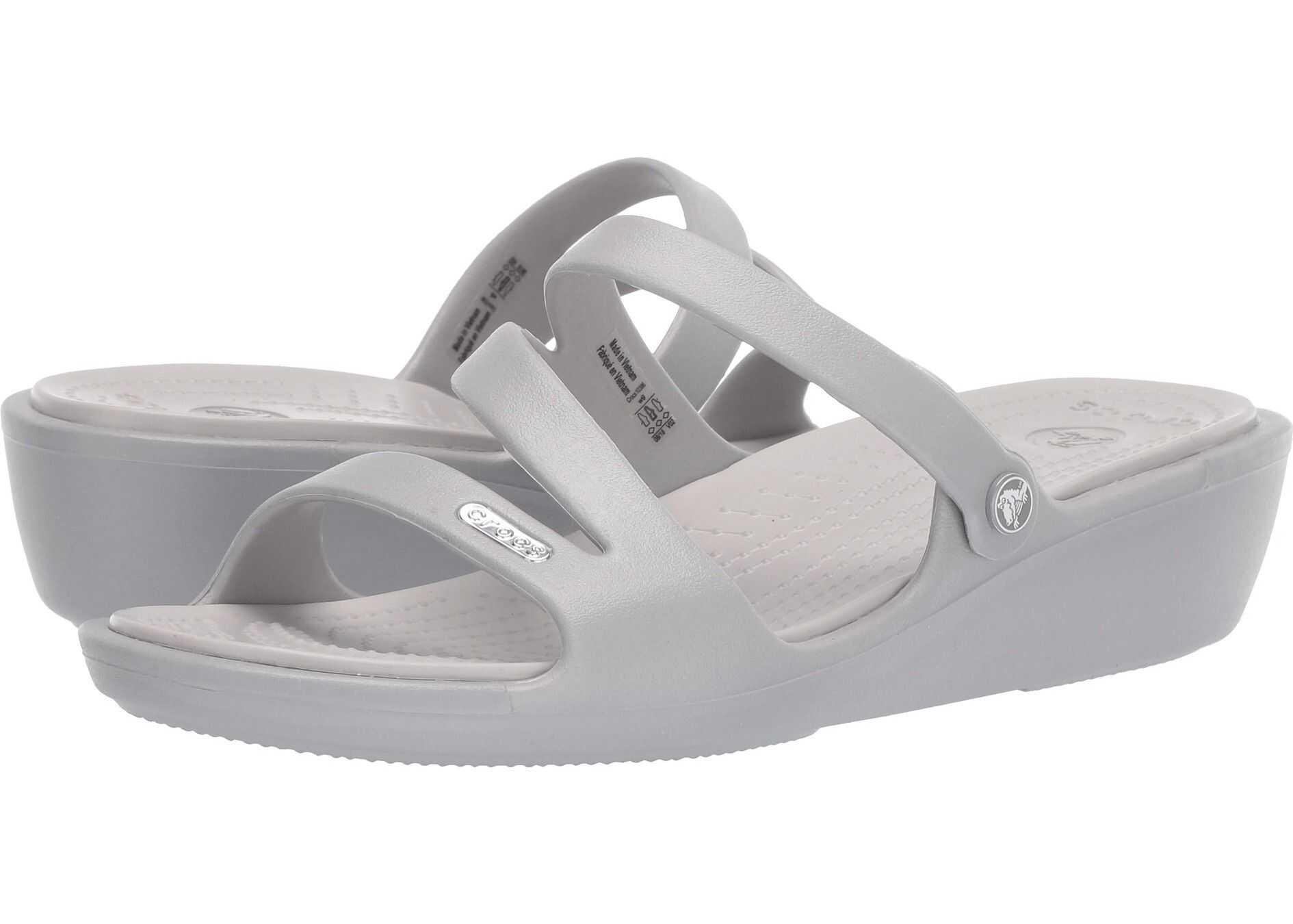 Crocs Patricia Silver/Pearl White