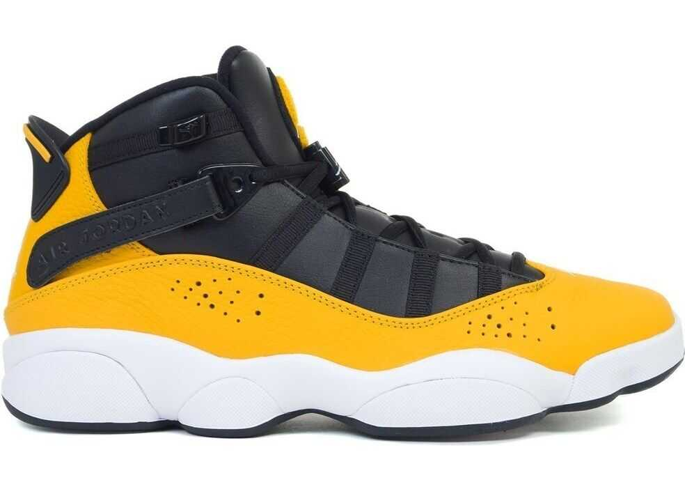 Nike Jordan 6 Rings 322992 ALB/NEGRE/GALBENE