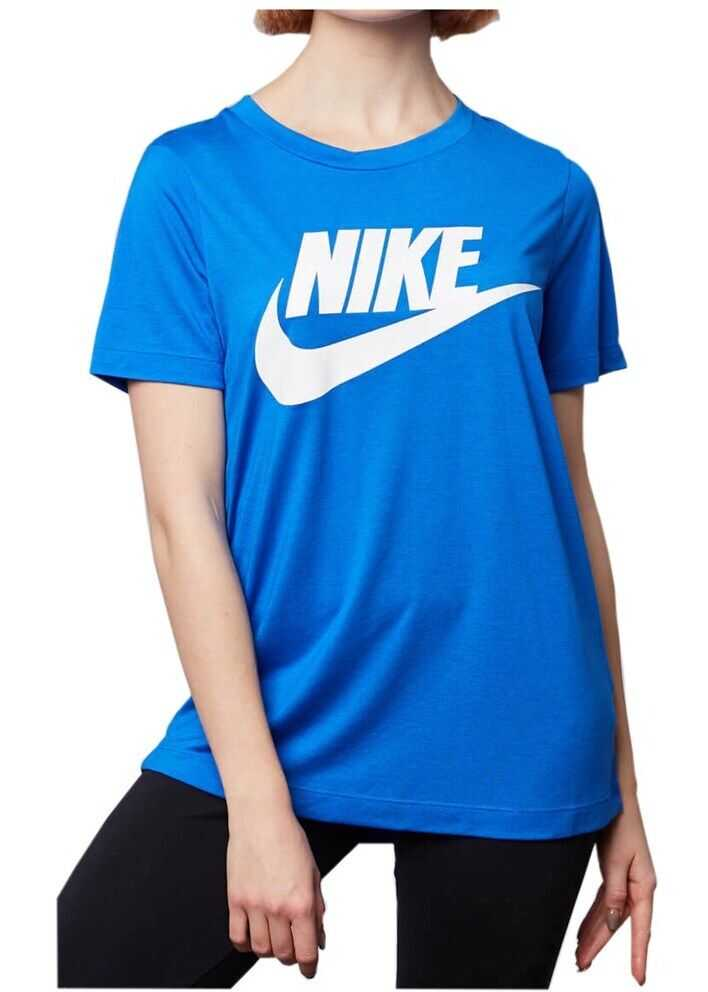 Nike Wmns Essential Tee 829747 ALBASTRE