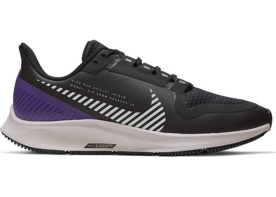 Nike W Air Zoom Pegasus 36 Shield AQ8006 NEGRE/VIOLETE