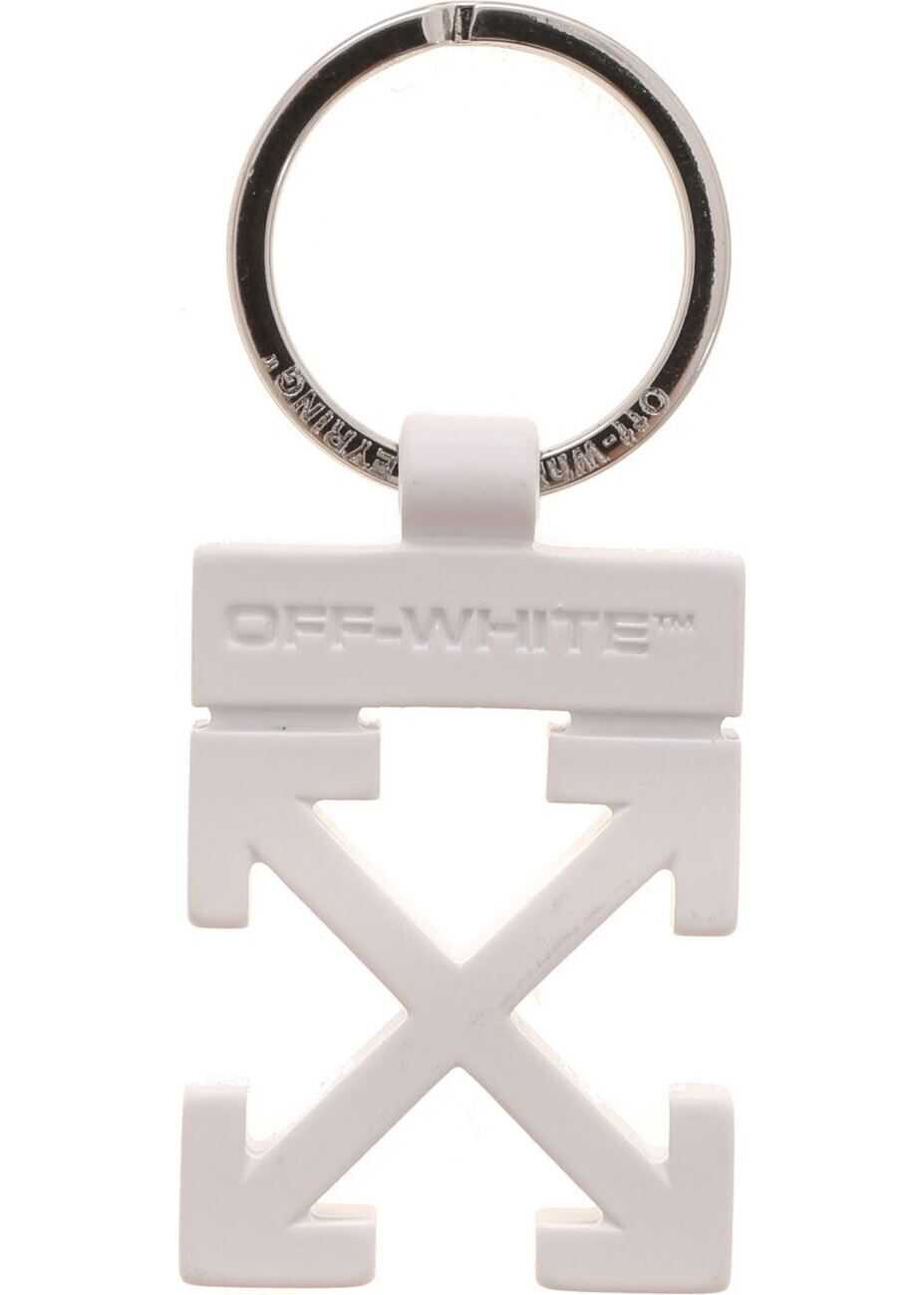 Keyring Arrow In White thumbnail