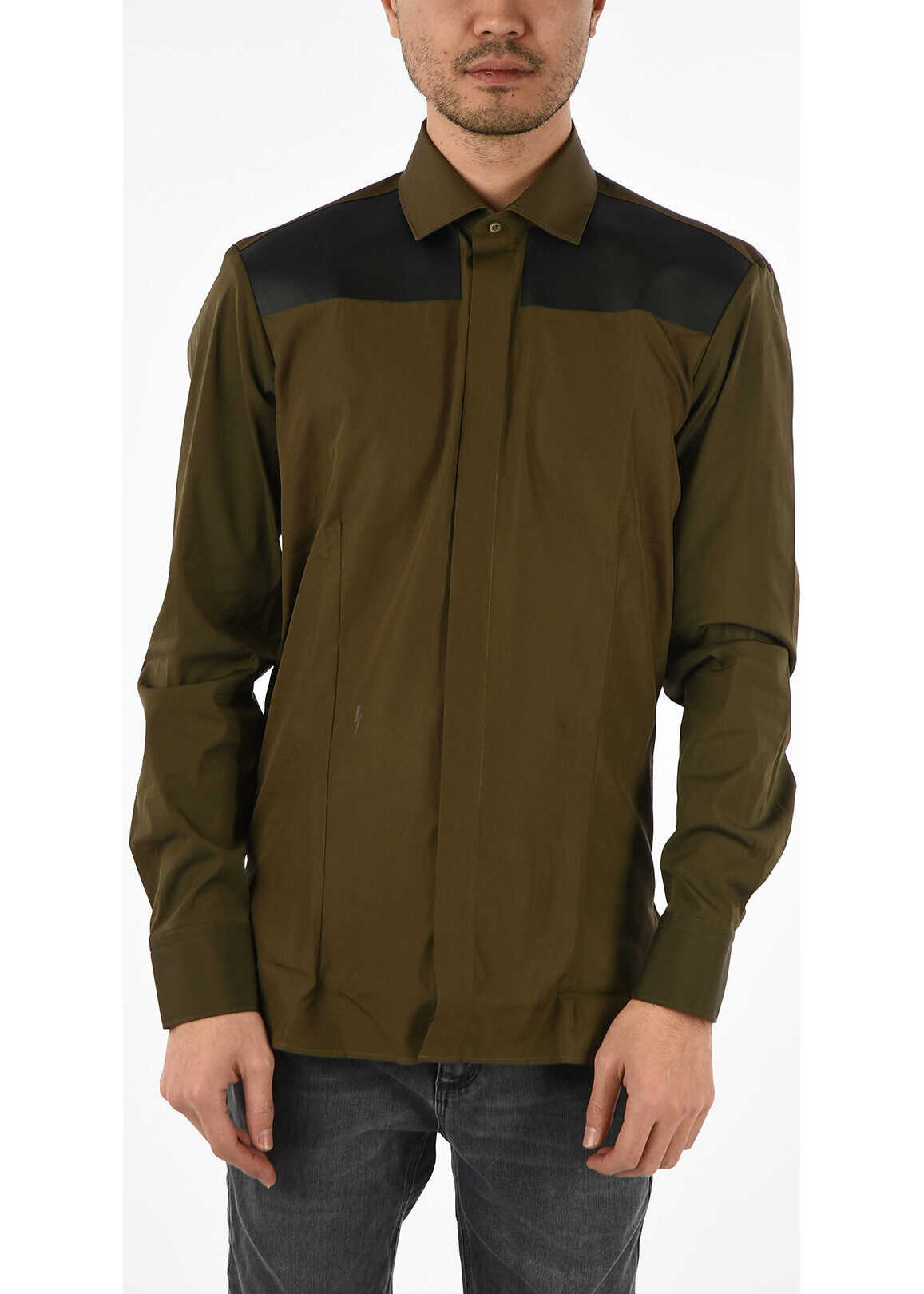 Neil Barrett Slim Fit Shirt GREEN