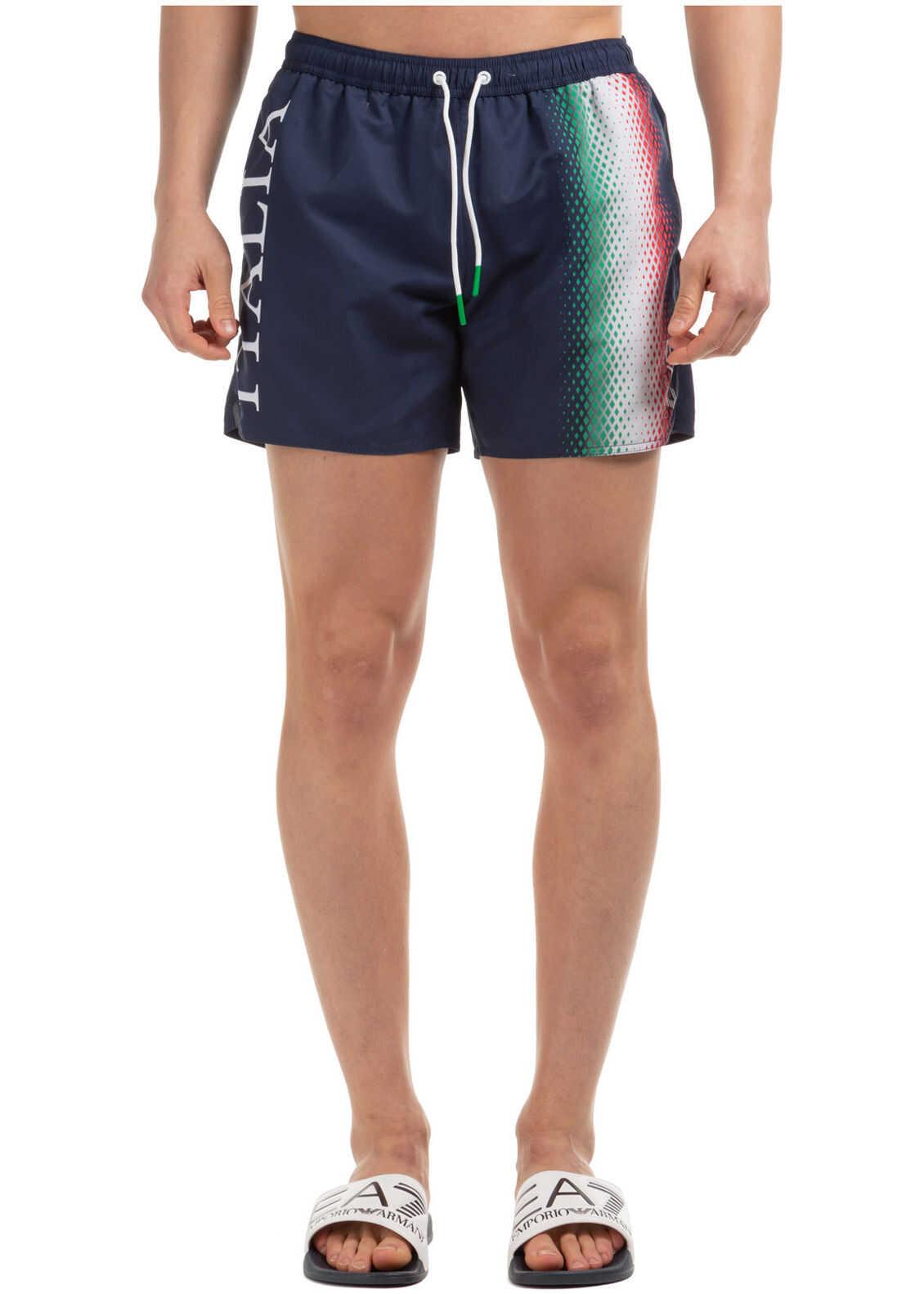 EA7 Swimming Suit Blue