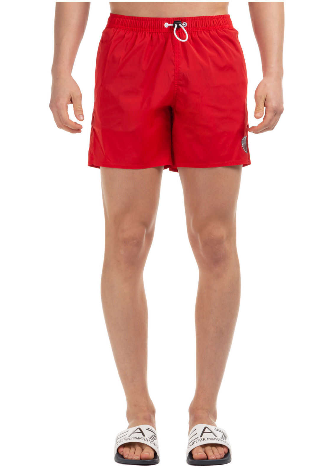 EA7 Swimming Suit Red