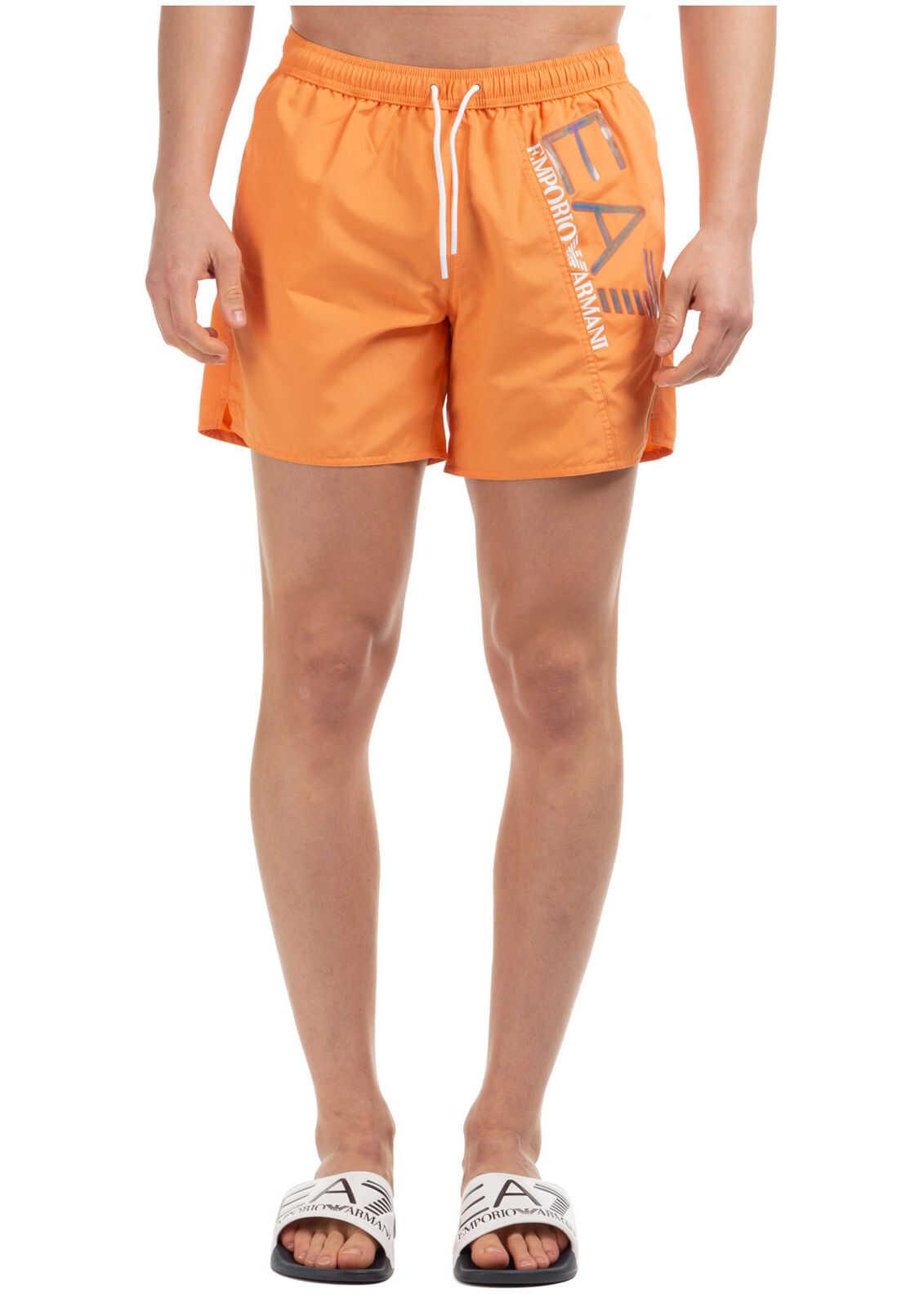 EA7 Swimming Suit Orange