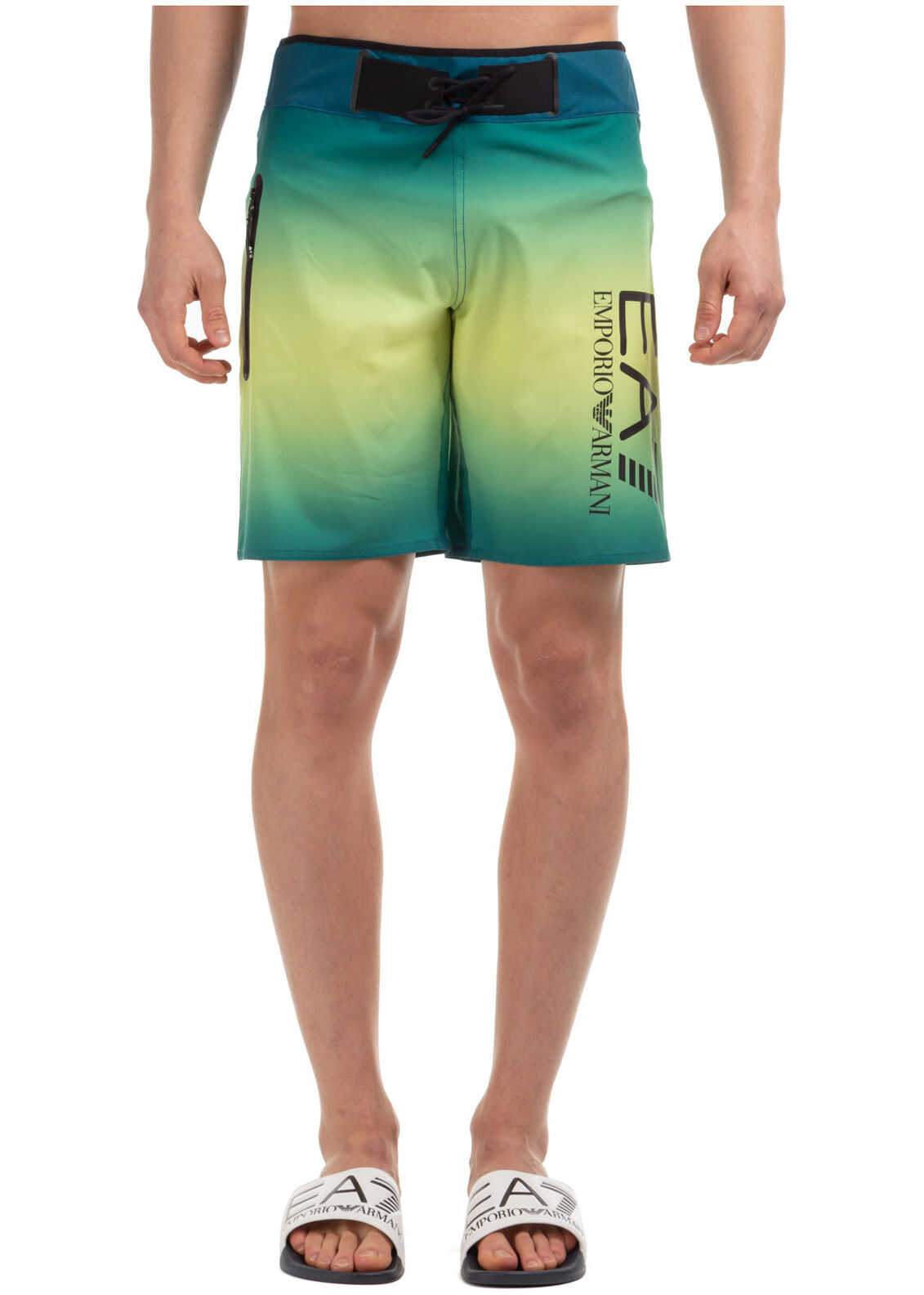 EA7 Shorts Bermuda Green