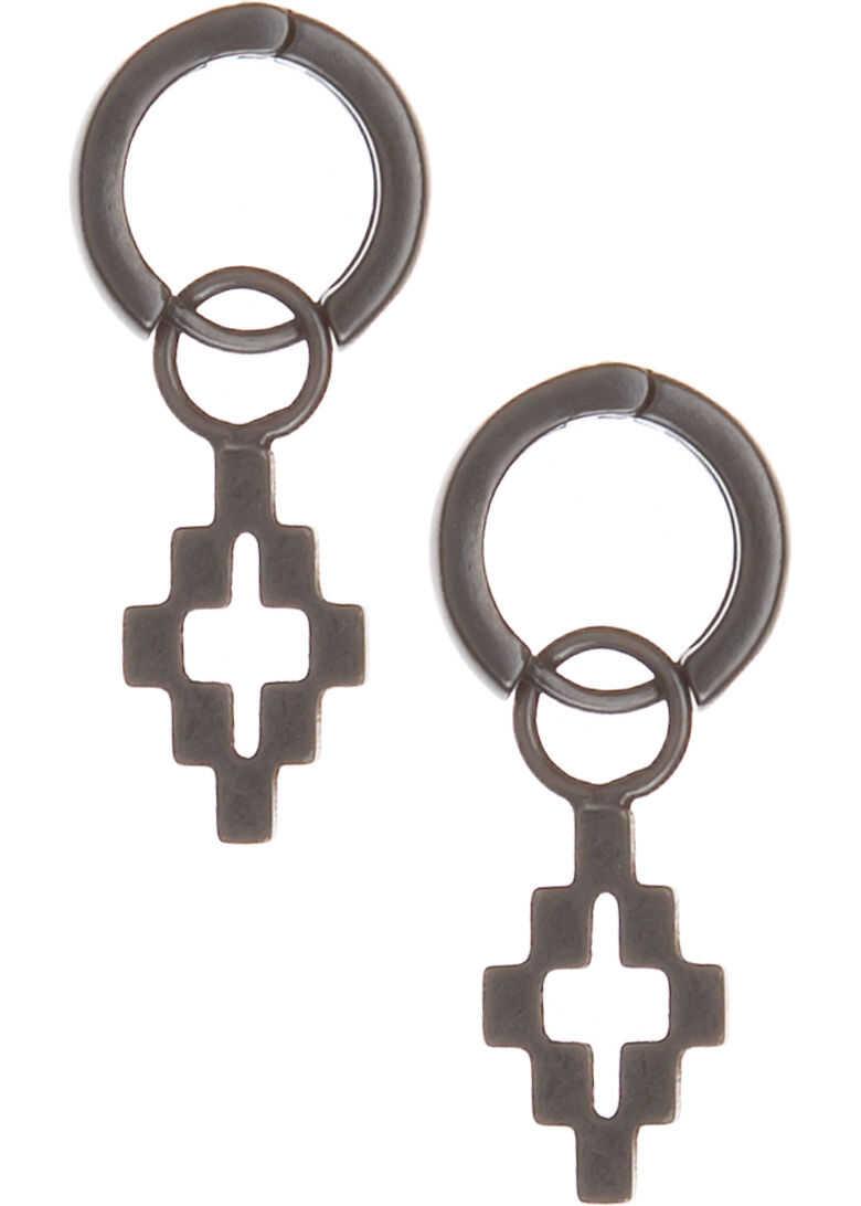 Marcelo Burlon Earrings Cross Grey