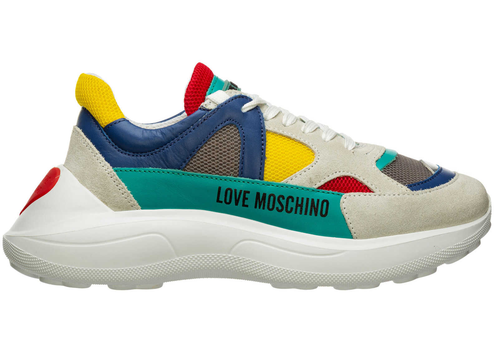 LOVE Moschino Trainers Sneakers White