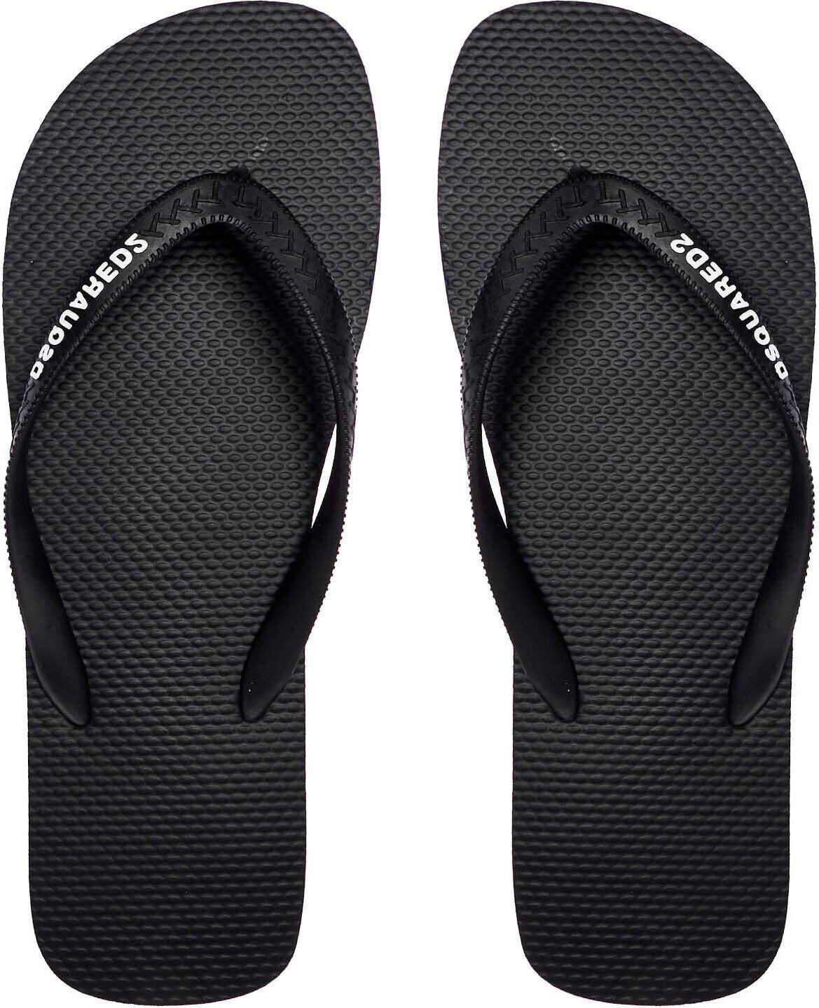 DSQUARED2 Flip Flops Black