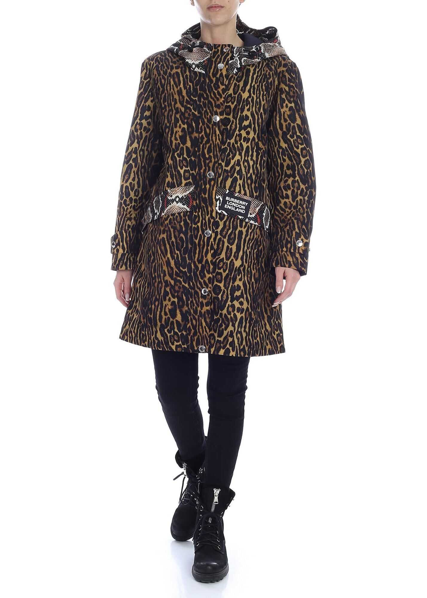 Cramound Parka In Animal Multi-Pattern thumbnail