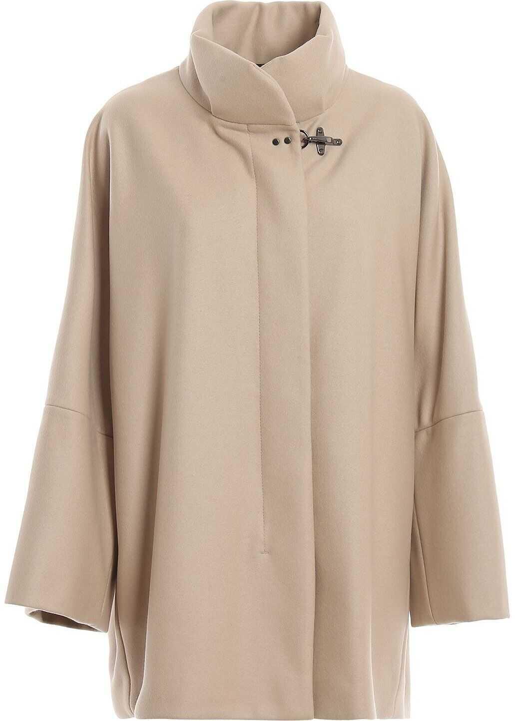 Fay Wool Coat BEIGE