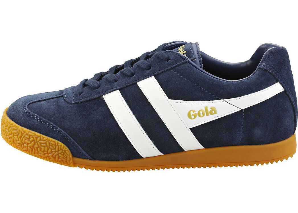 Gola Harrier Casual Trainers In Navy White Blue