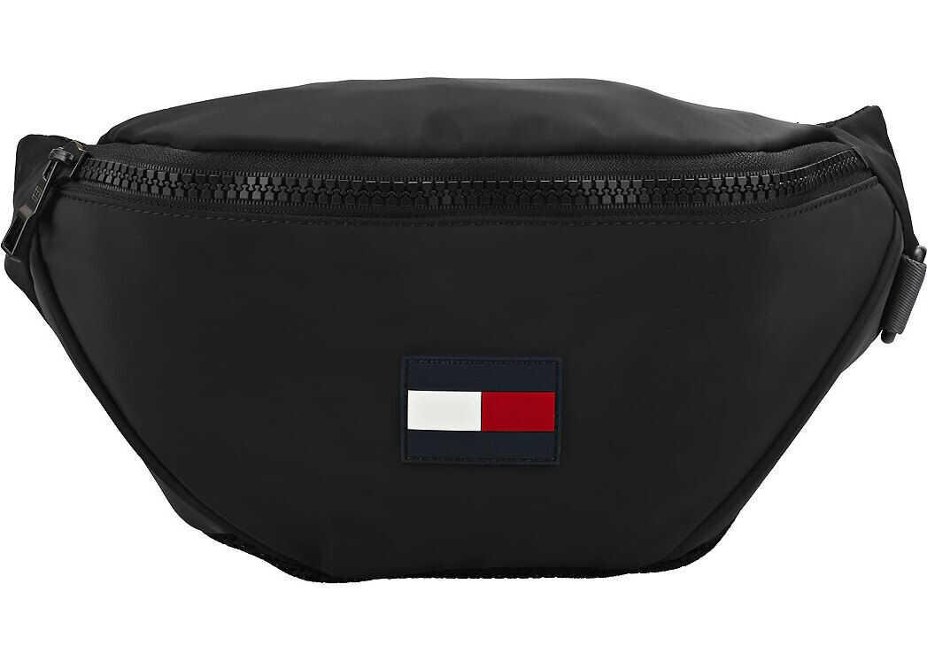 Tommy Hilfiger Crossbody Walking Belt Bag In Black Black