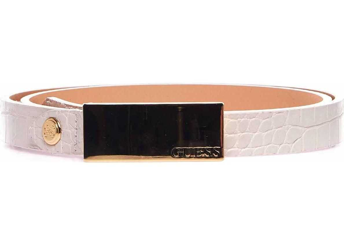GUESS Belt with metallic details Rose