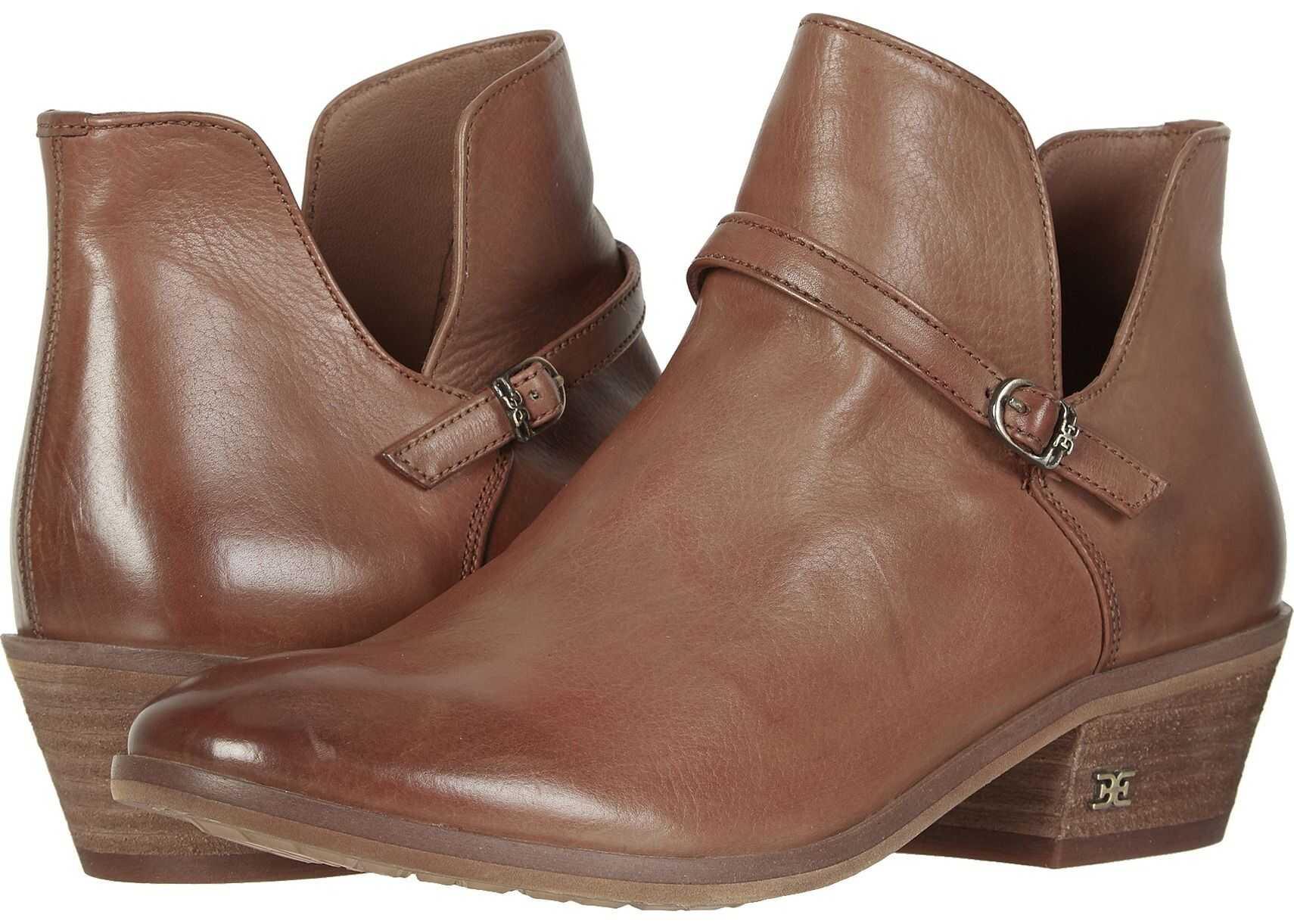 Sam Edelman Palmer Cognac Veg Calf Leather