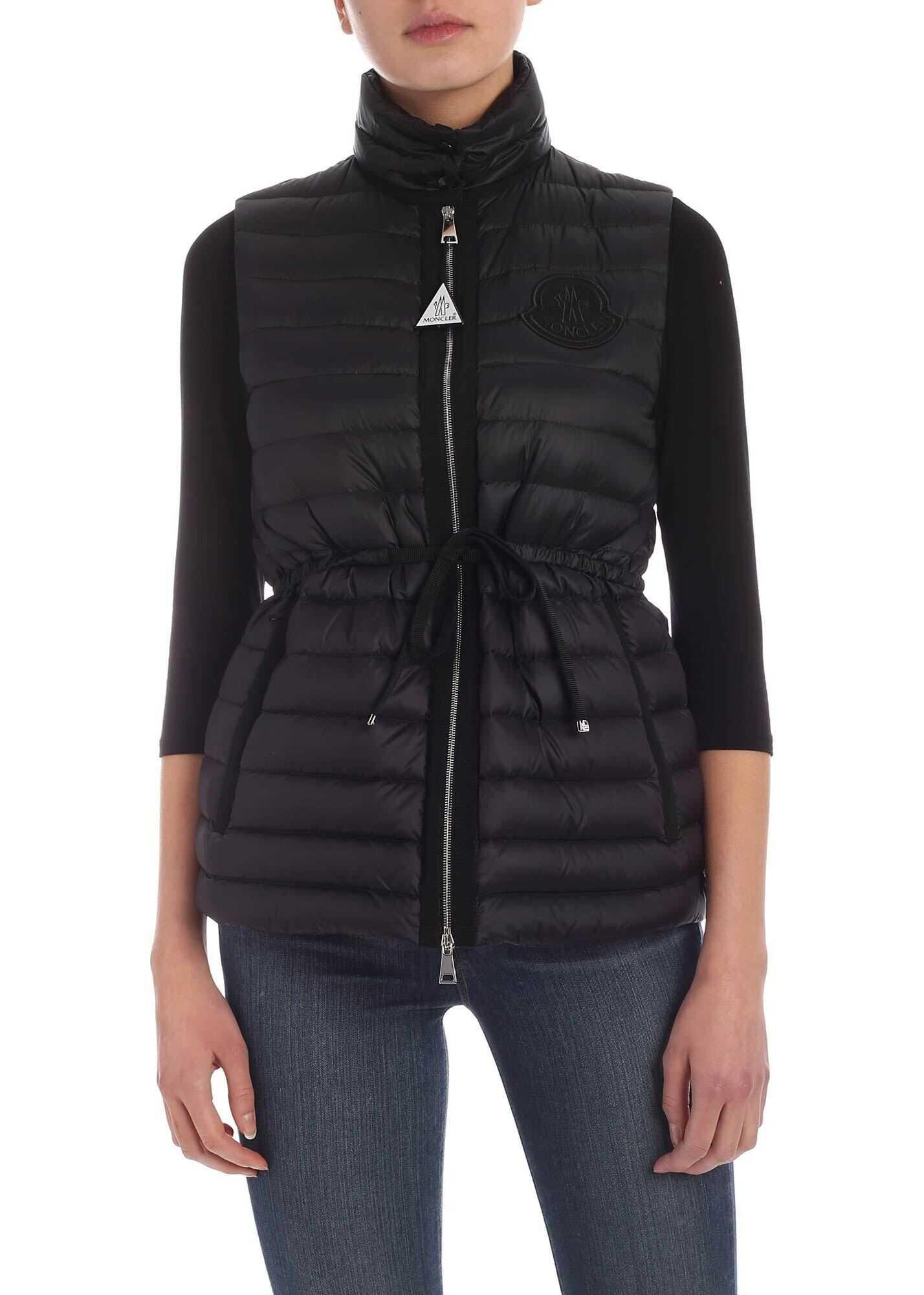 Azur Waistcoat In Black thumbnail