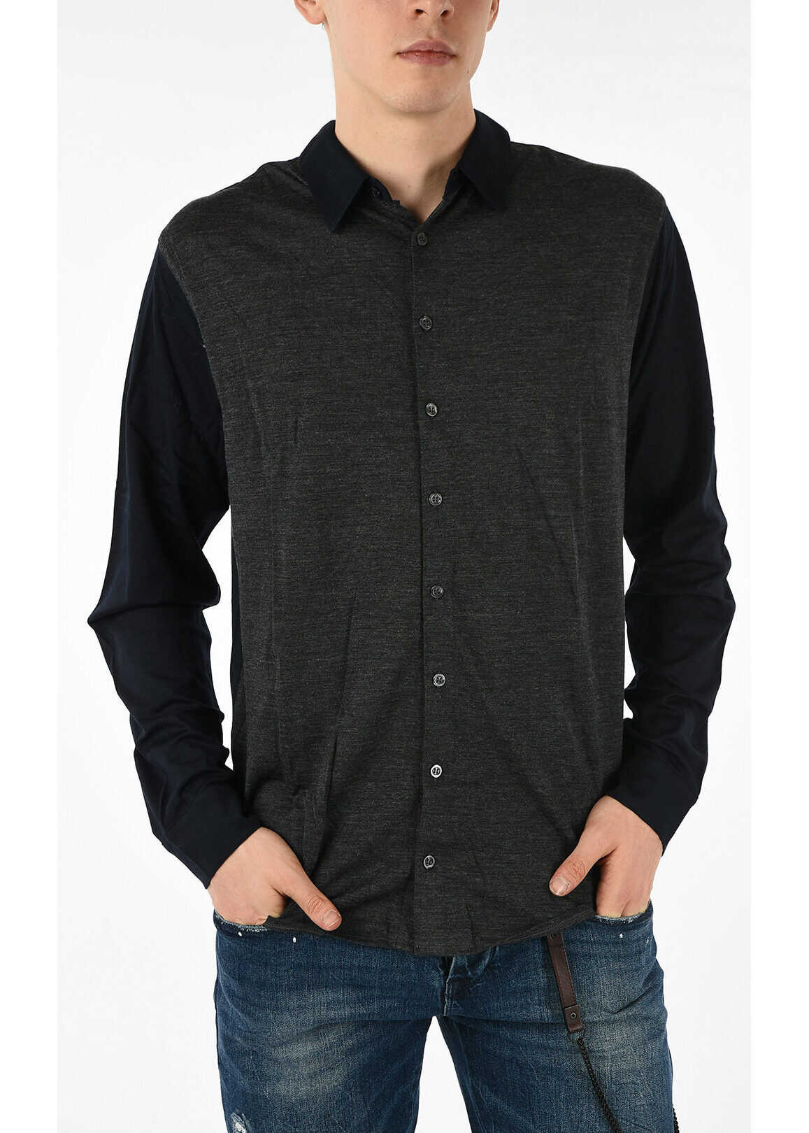 Armani EMPORIO Knitted Shirt MULTICOLOR