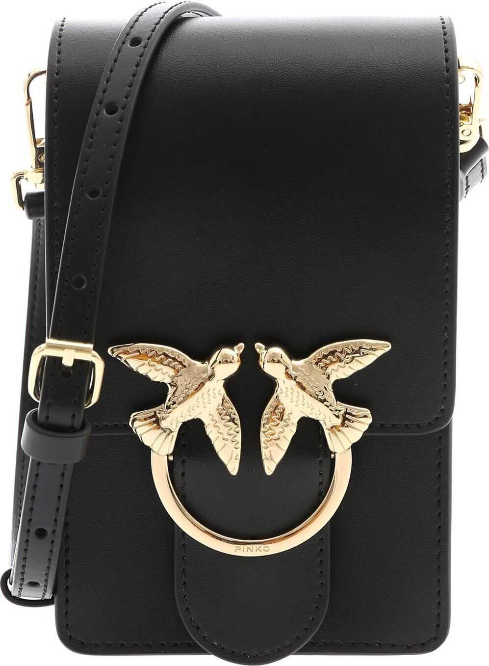 Pinko Love Smart Simply Bag In Black Black