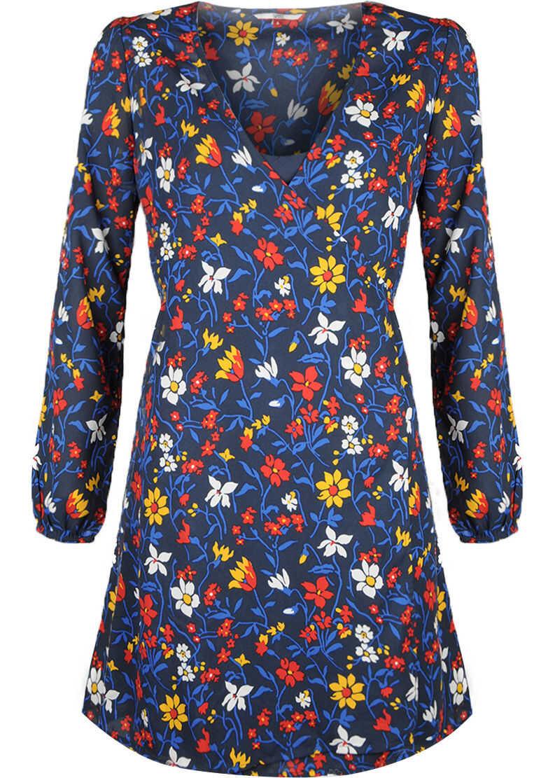 Tommy Hilfiger Wrap Dress DW0DW05200 Wielokolorowy
