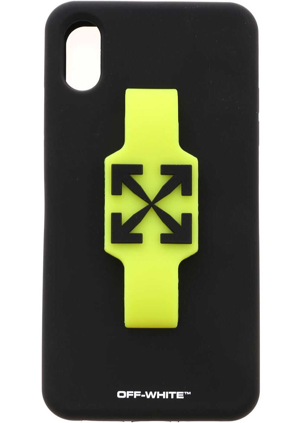 W Fing Cover In Black And Neon Yellow thumbnail