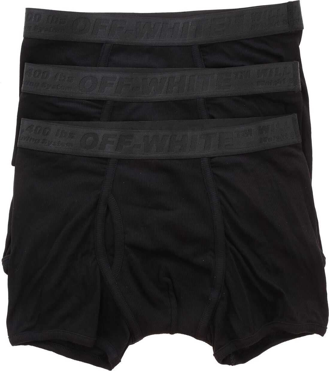 Tripack Boxer Short In Black Stretch Jersey thumbnail