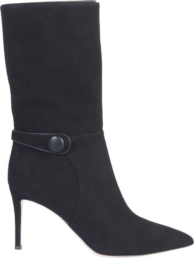 Giuseppe Zanotti Suede Boots BLACK