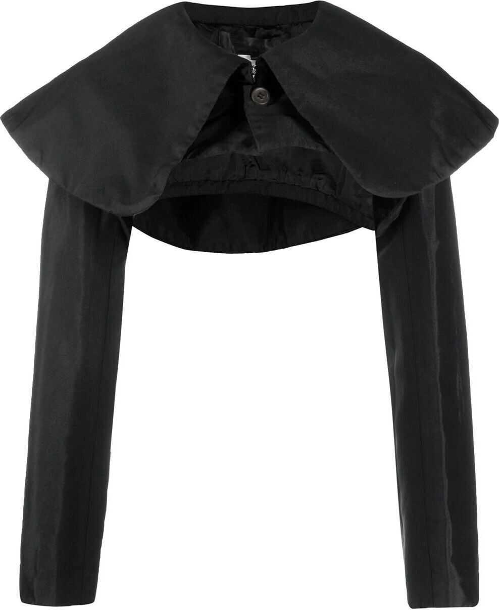 Comme des Garçons Polyester Outerwear Jacket BLACK