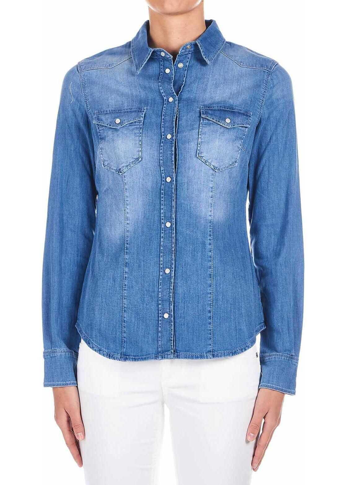 Liu Jo Denim blouse Blue