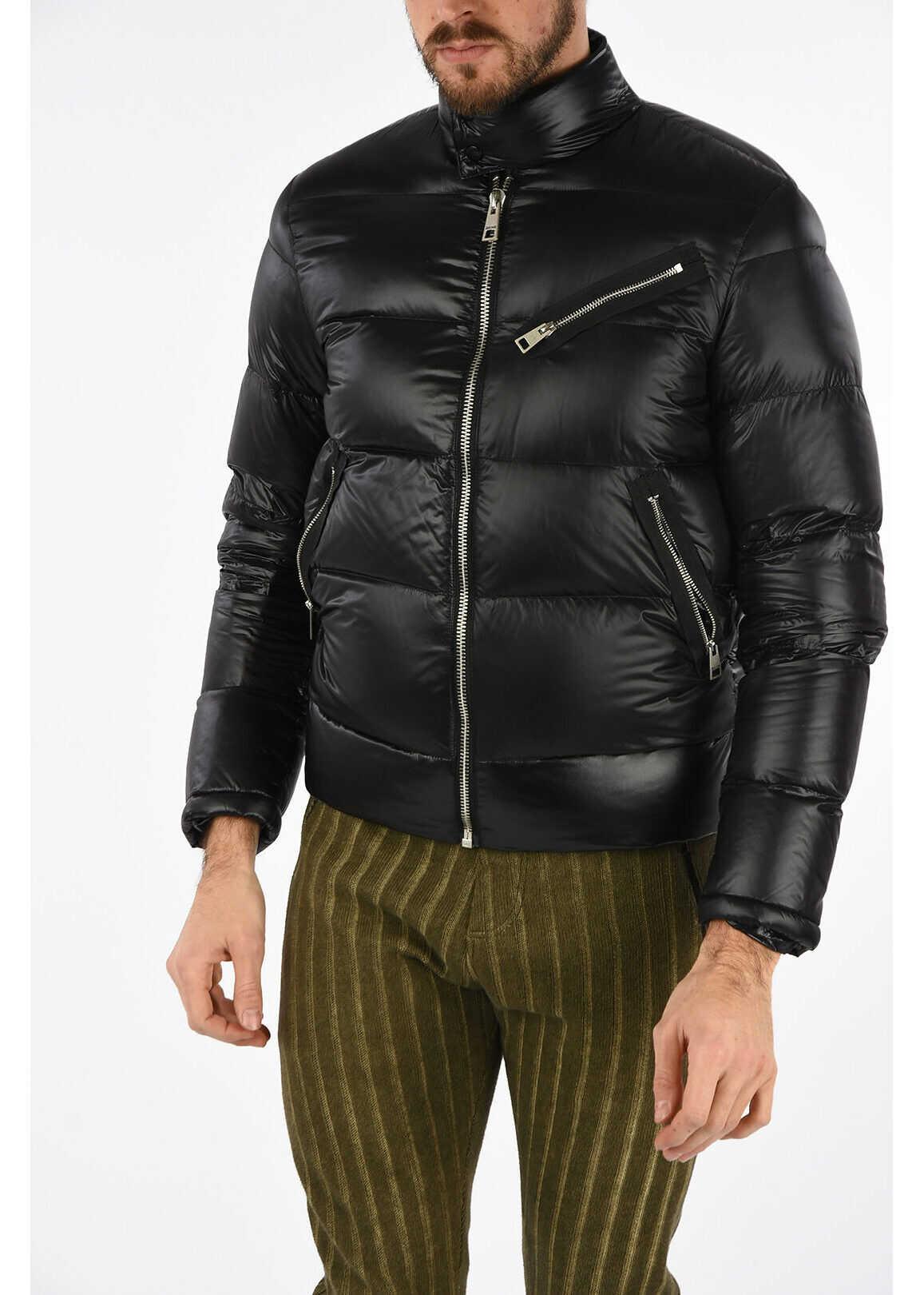 Just Cavalli Down Padded Jacket BLACK