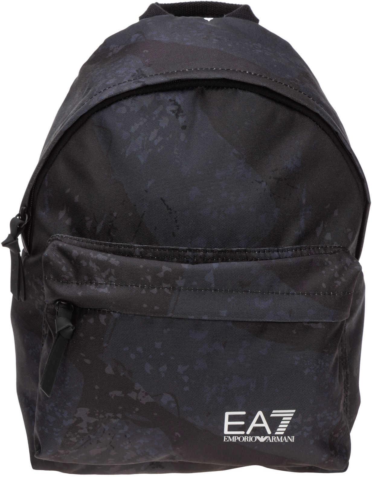 EA7 Backpack Travel Black