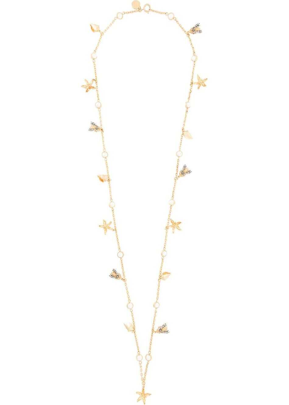 Tory Burch Metal Necklace GOLD