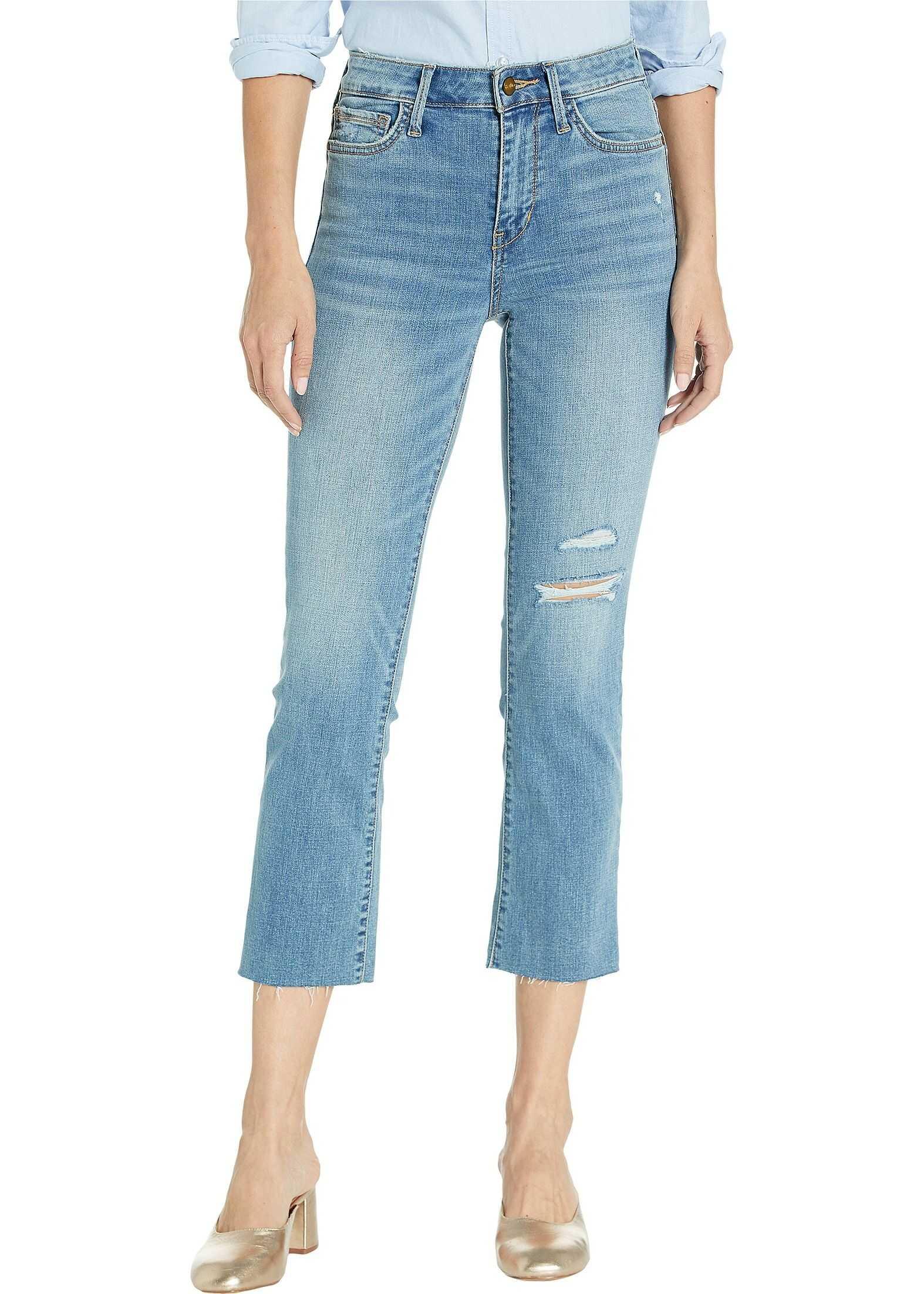 Sam Edelman Stiletto Crop Boot Jeans in Olien Olien