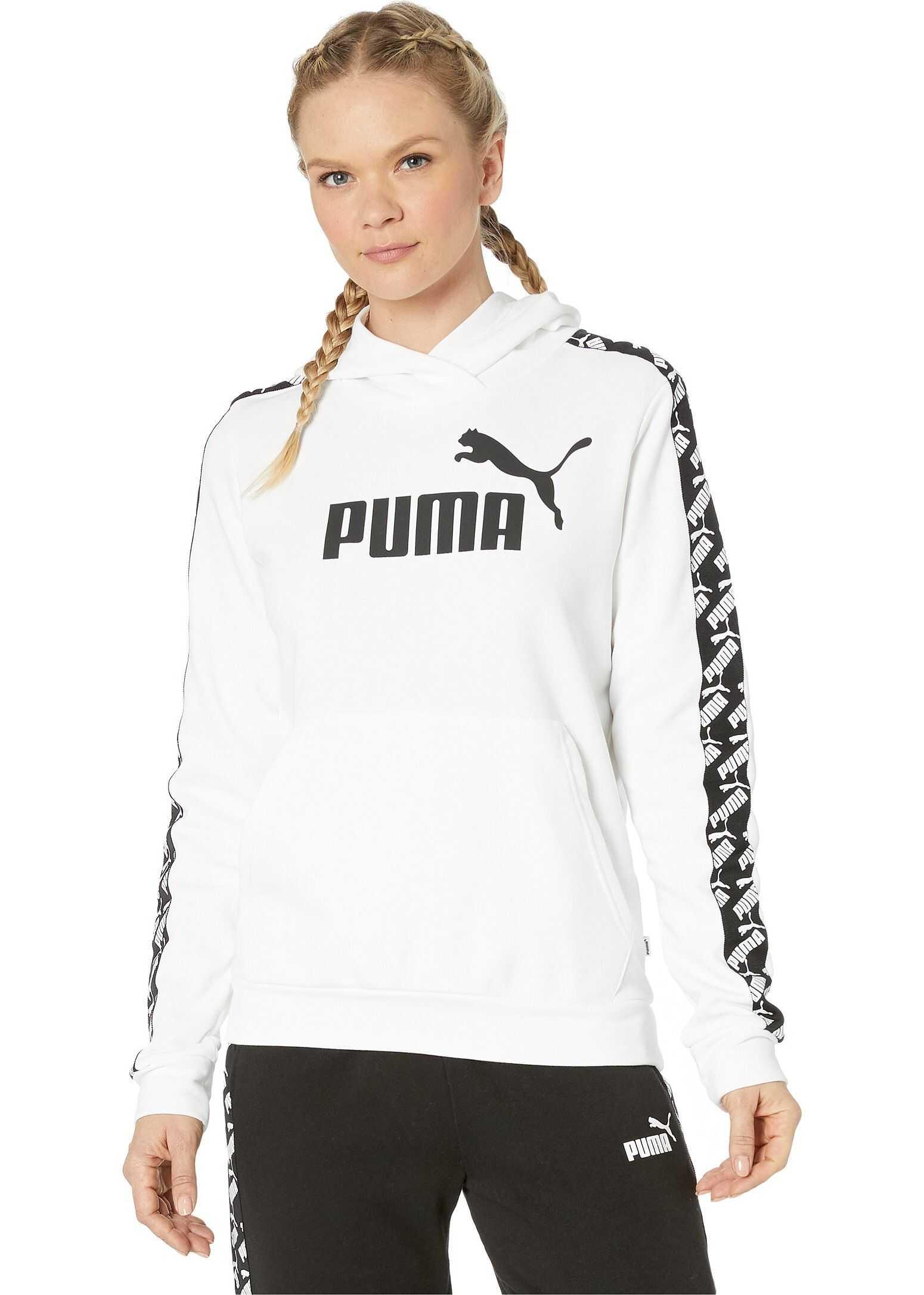 PUMA Amplified Hoodie PUMA White