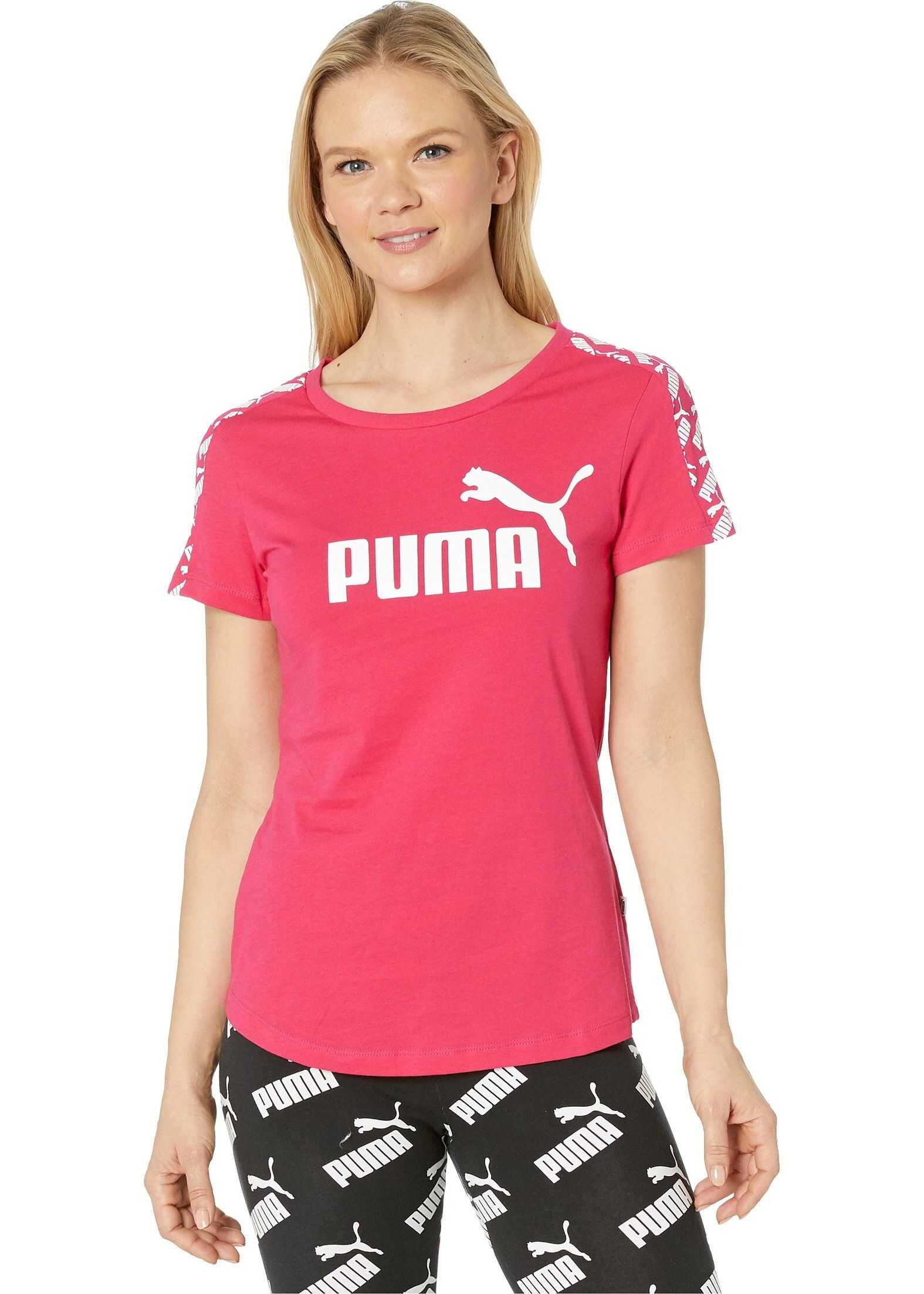 PUMA Amplified Tee Bright Rose