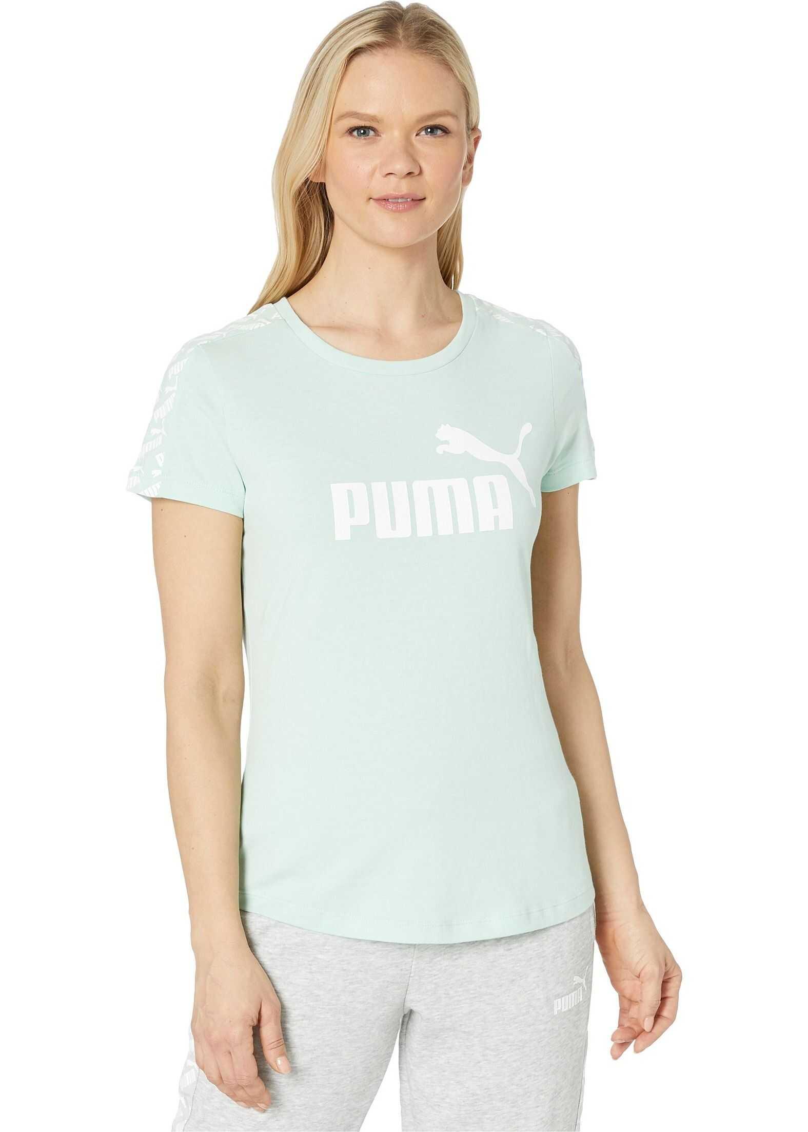 PUMA Amplified Tee Mist Green