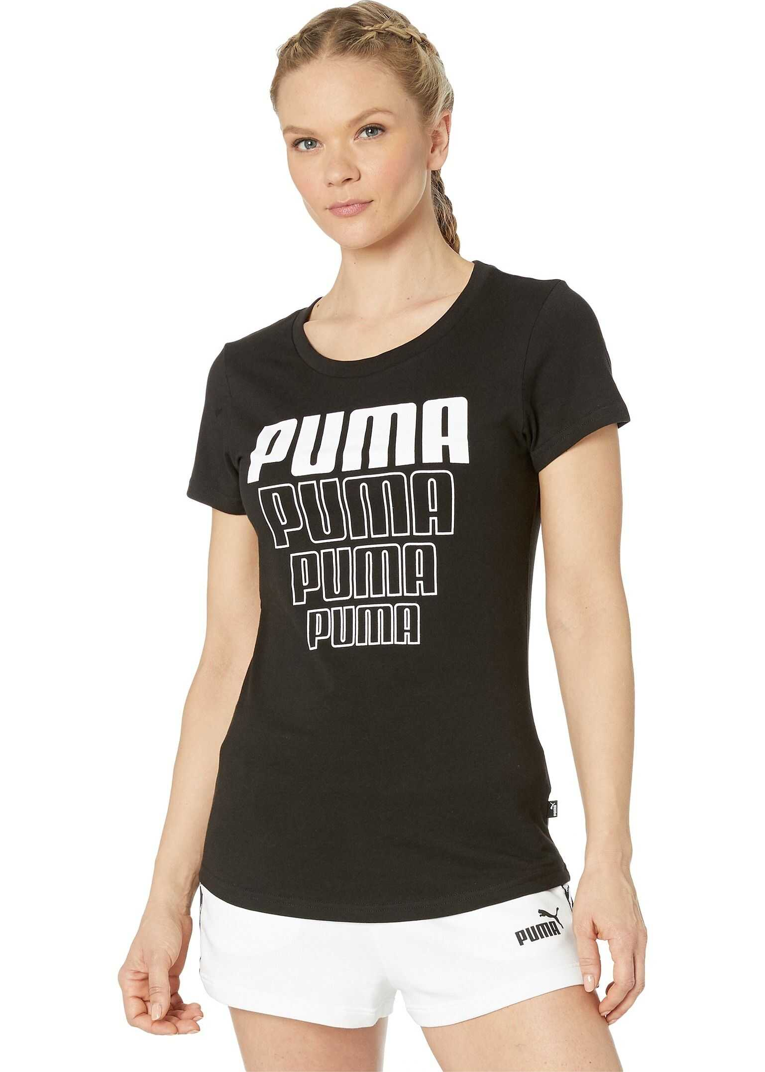 PUMA Rebel Graphic Tee PUMA Black