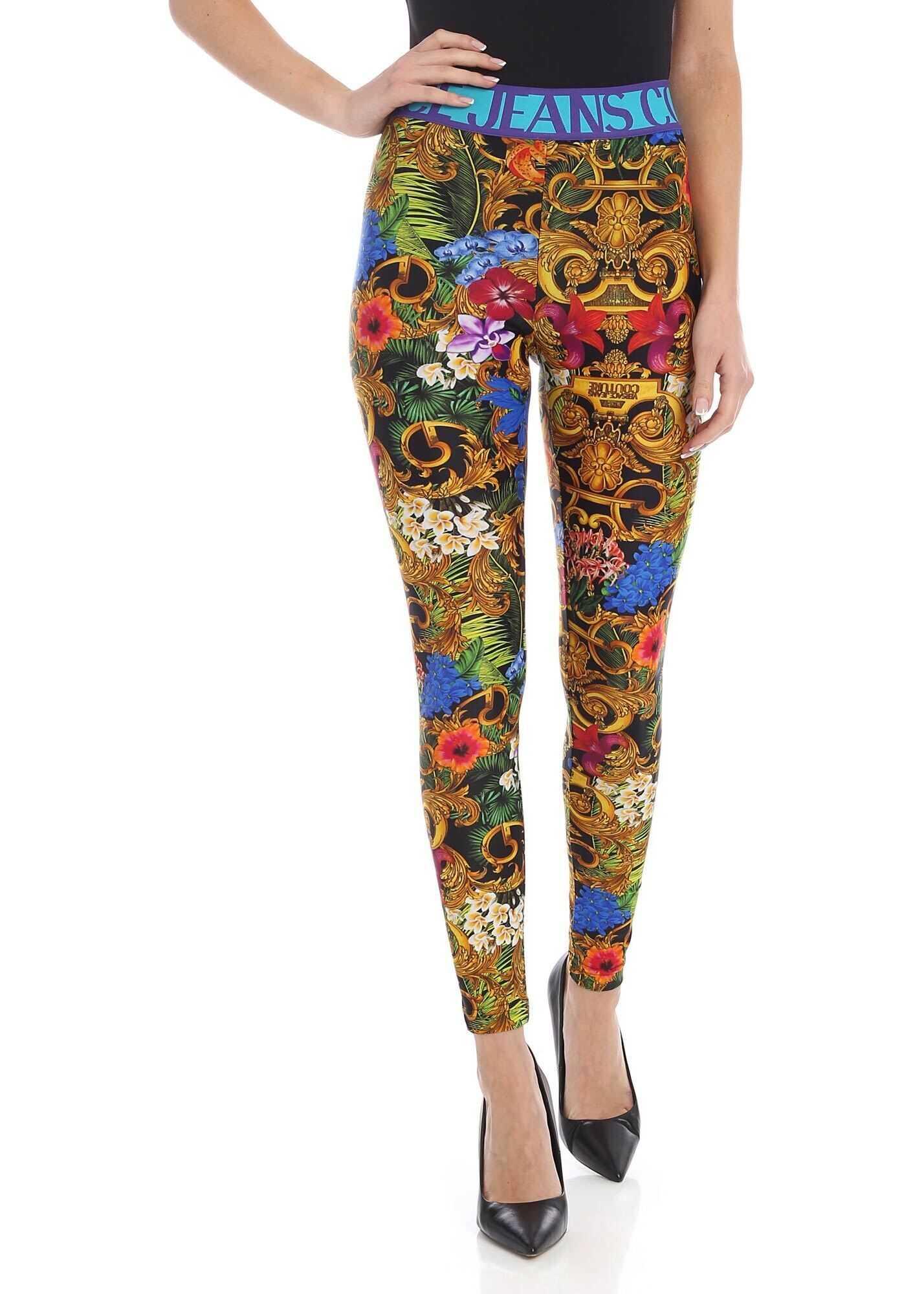 Jungle Bar Leggings In Multicolor thumbnail