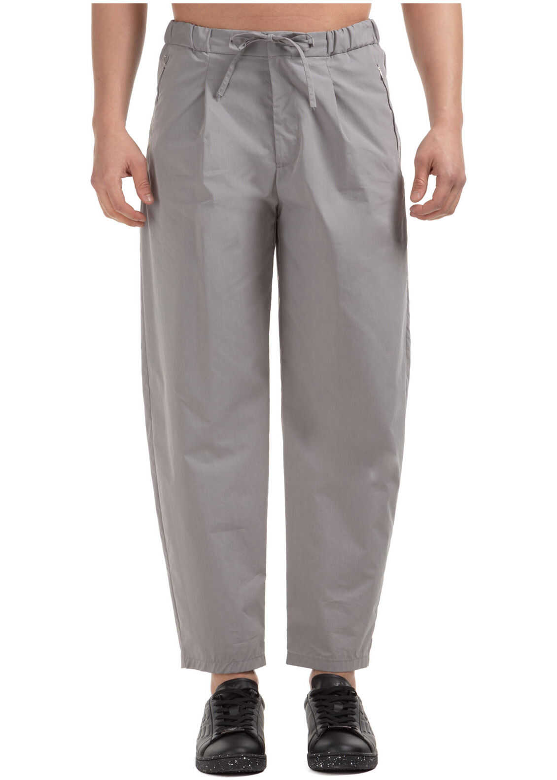 Emporio Armani Trousers Pants Grey