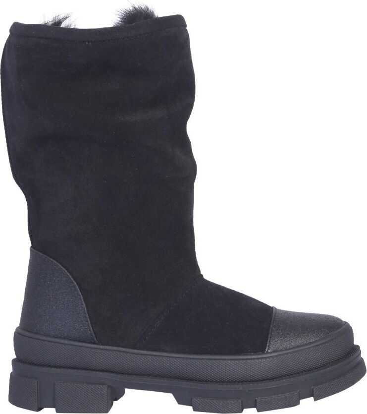 DSQUARED2 Suede Boots BLACK