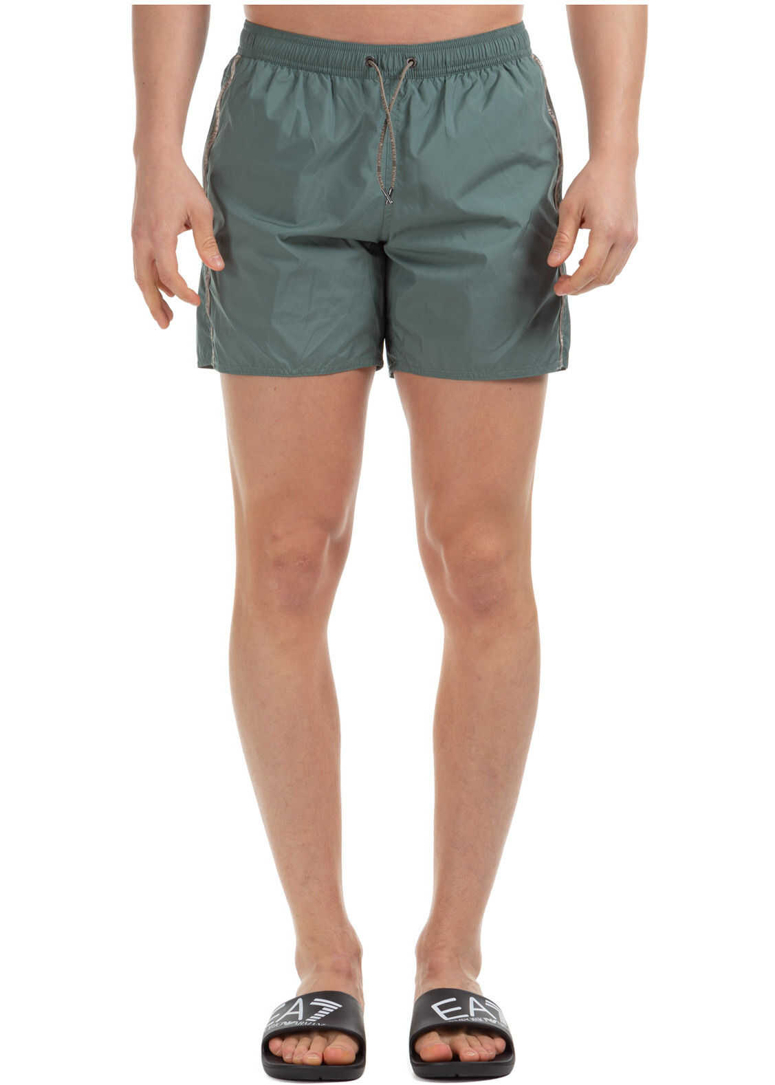 Emporio Armani Trunks Swimsuit Green