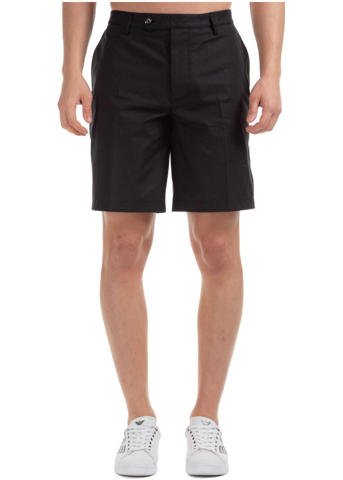 Emporio Armani Shorts Bermuda Black
