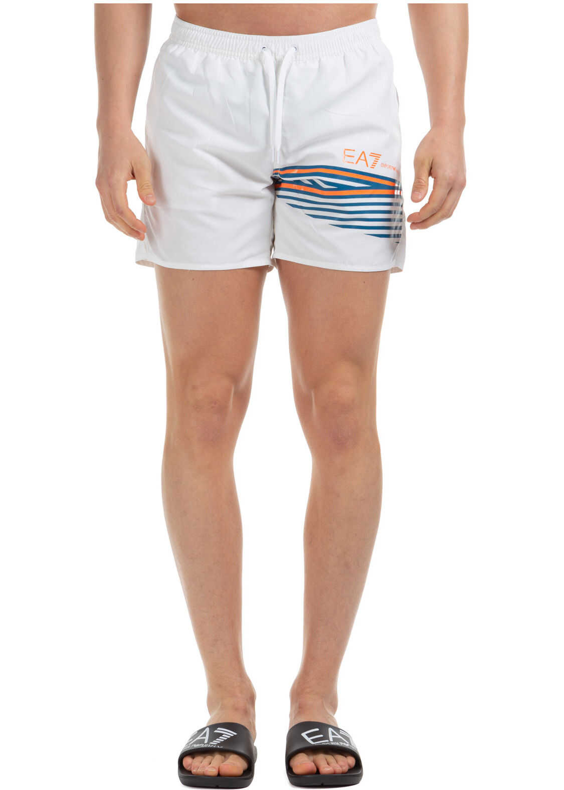 EA7 Swimming Suit White