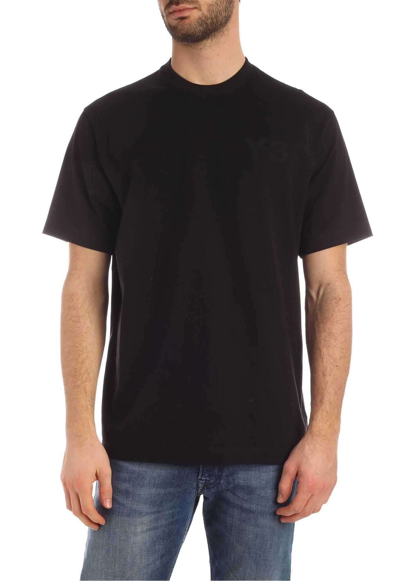 Y-3 Cl Logo T-Shirt In Black Black
