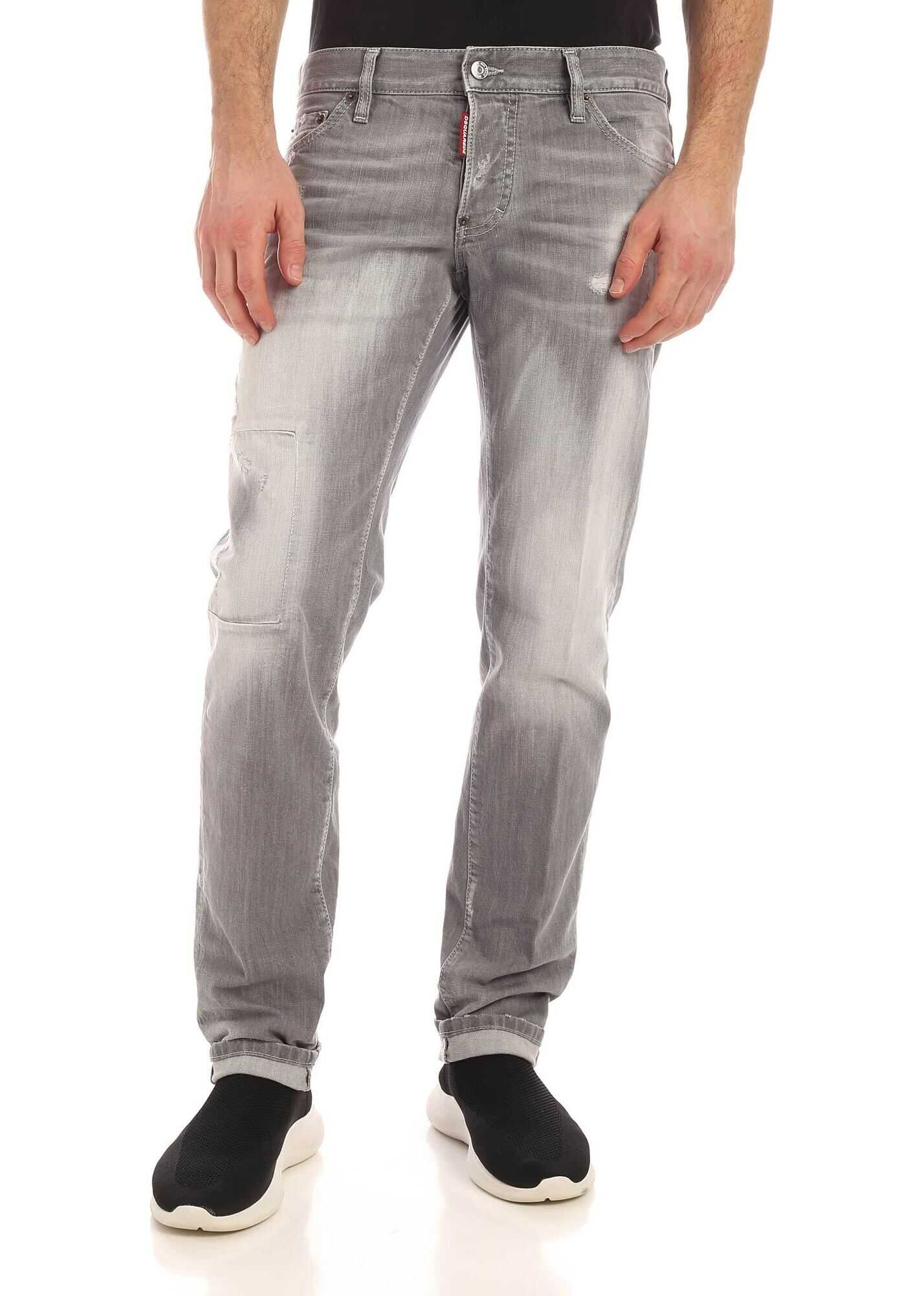 Slim Jeans In Grey thumbnail