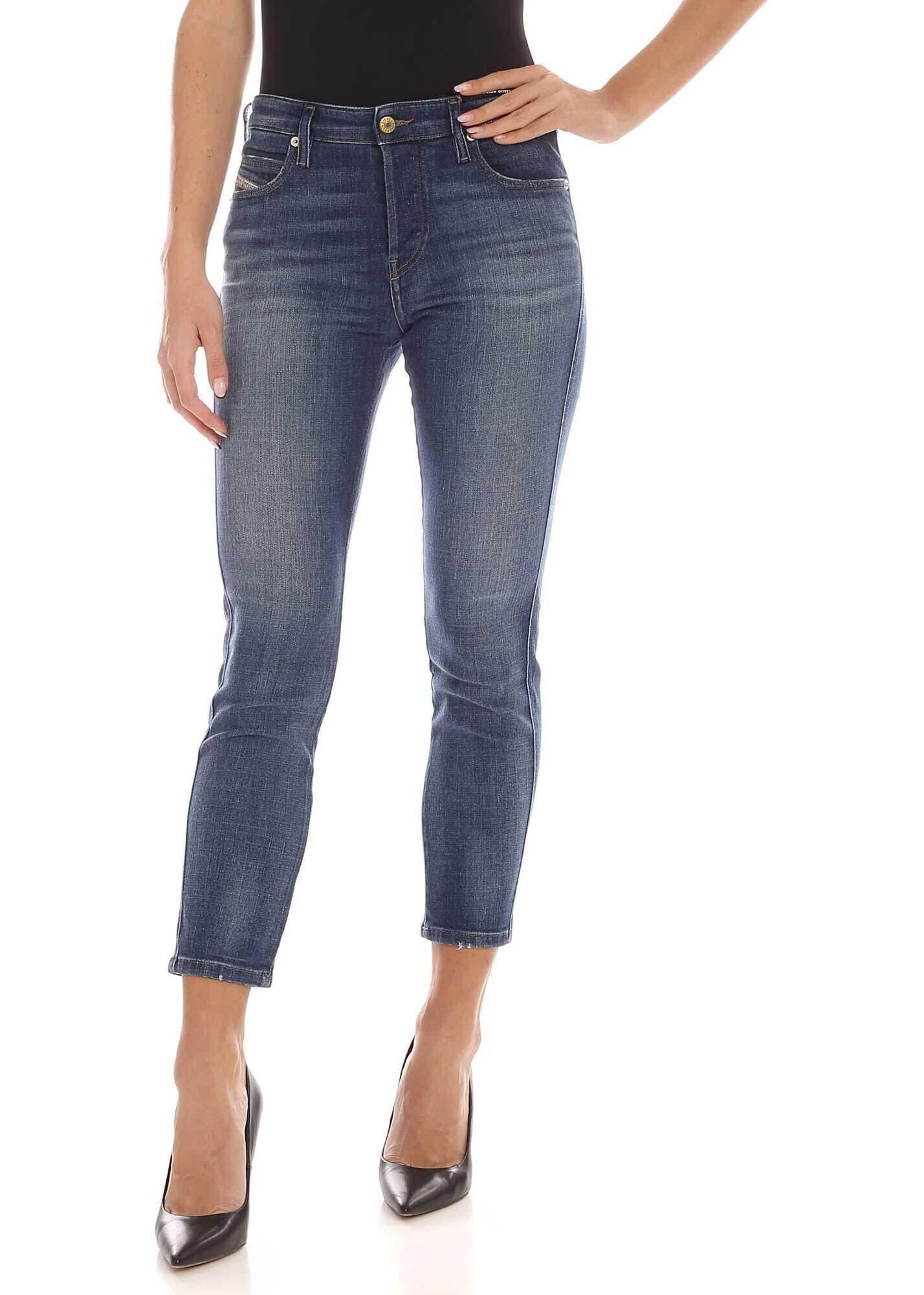 Diesel Babhila Jeans In Blue Blue