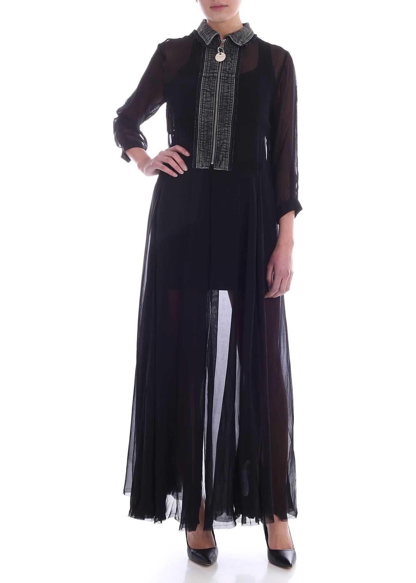 Diesel Rahan-A Dress In Black Black