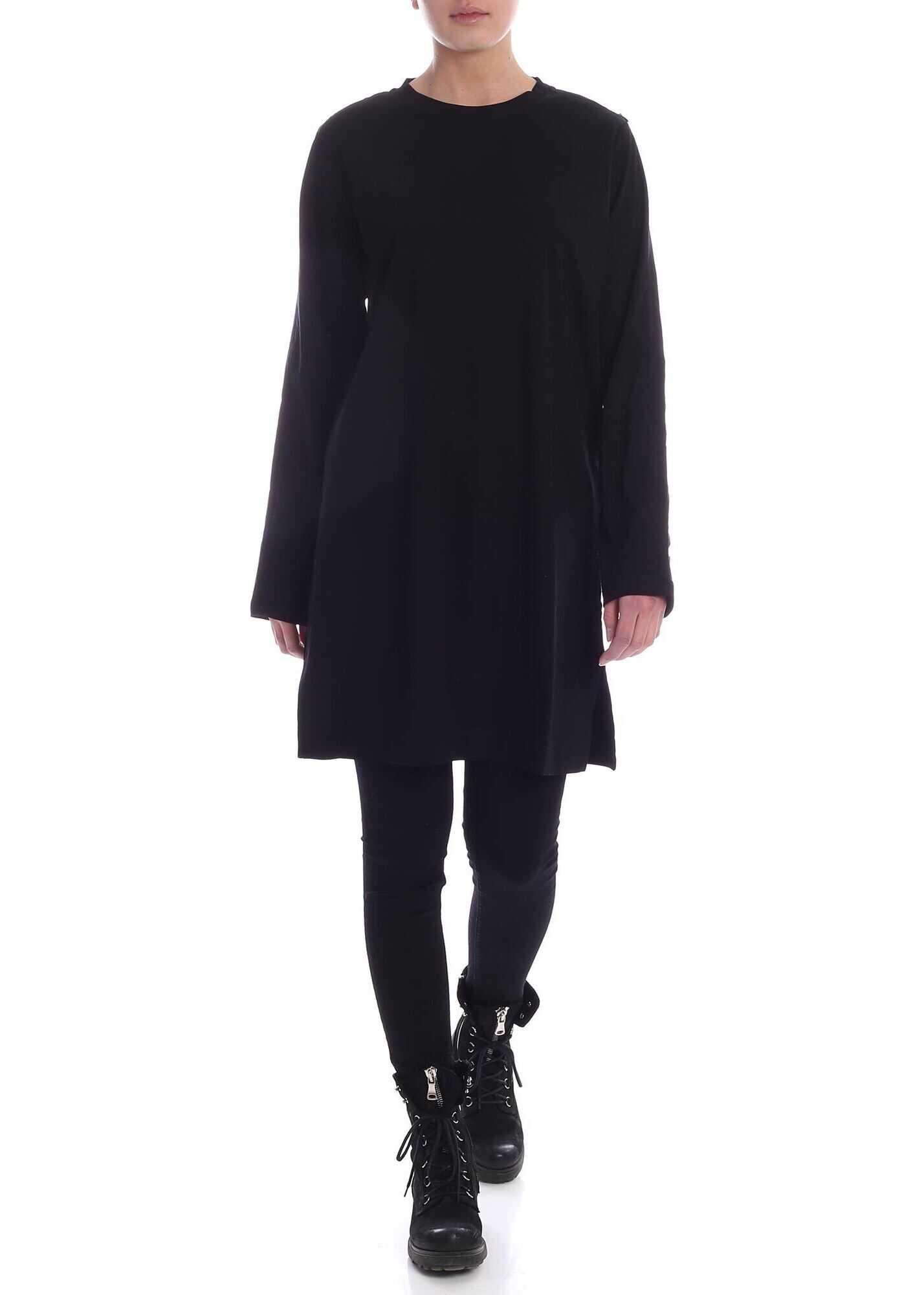 Diesel Rosy Dress In Black Black