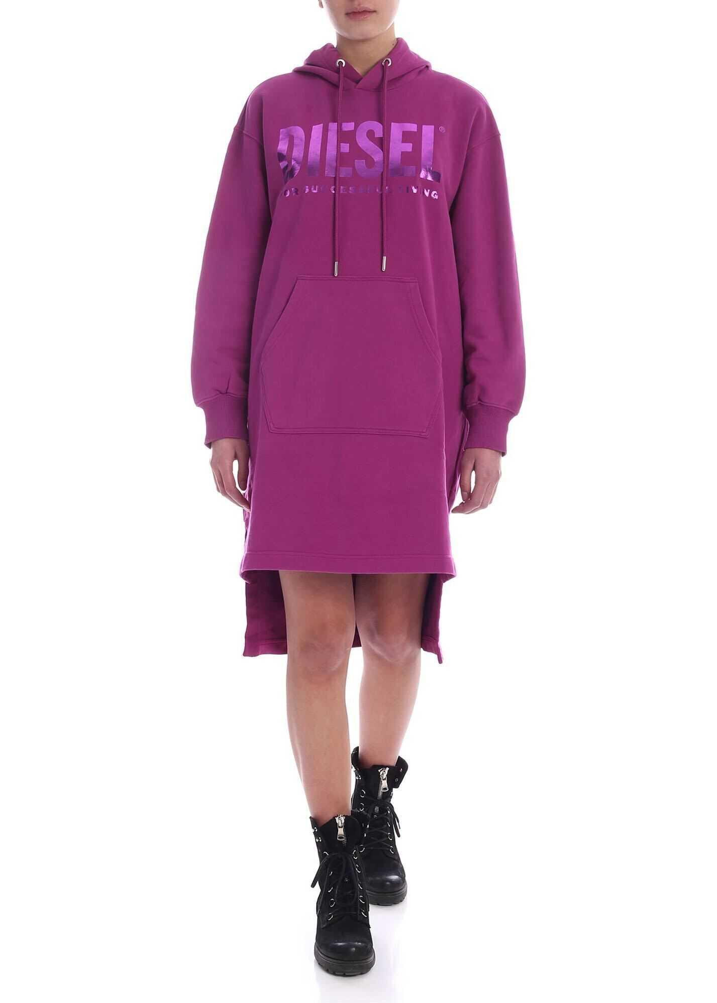 Diesel Ilse-T Dress In Purple Purple