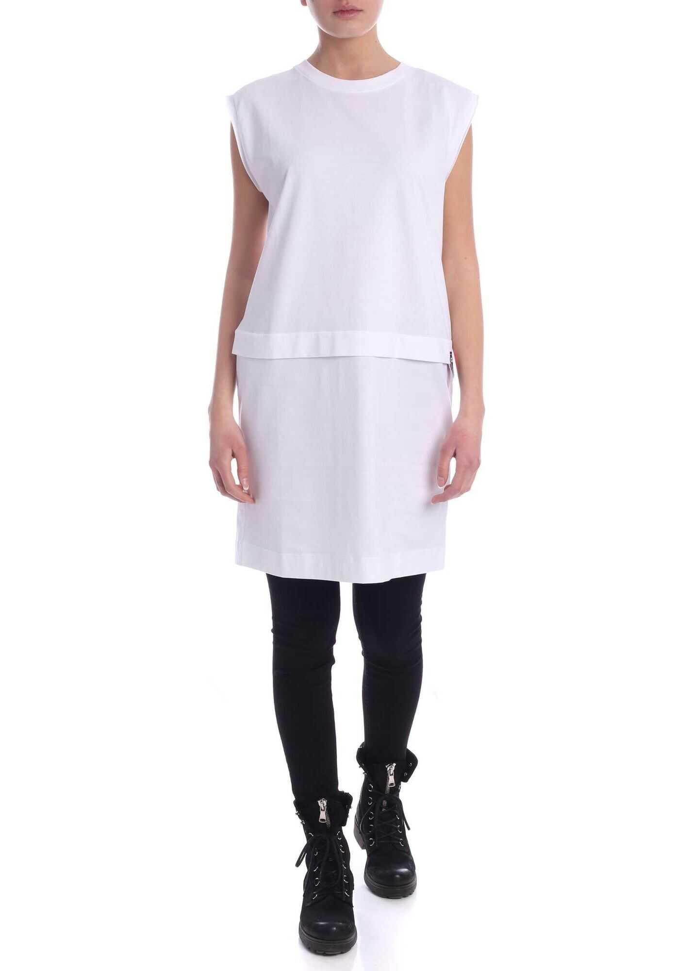 Diesel Hatter Dress In White White